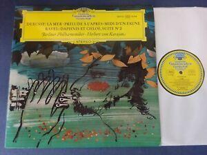 TULIPS NM DEBUSSY, LA MER / PRELUDE, RAVEL: D & C 2 LP, BPO, Karajan, DG 138 923