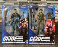 G.I. Joe Classified Set Of 2 Figures Flint & Lady Jaye *IN HAND*