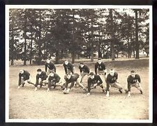 1930s Notre Dame Fighting Irish Football Offense Team Photo