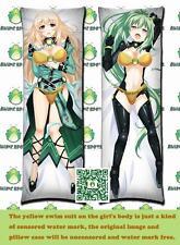 Hyperdimension Neptunia Vert GREEN HEART CH017 Anime Dakimakura body pillow case
