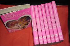 GO NAGAI PRESENTA-CUTIE HONEY-SERIE COMPLETA N°1/ 9- D-VISUAL D-BOOK usati RARI
