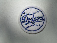 """1960s Vintage Baseball Cloth patch Los Angeles Dodgers  2"""" NOS"""