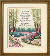 "Dimensions Gold ""Serenity, courage, Wisdom"" Cross Stitch kit punto de cruz-stickpacku"