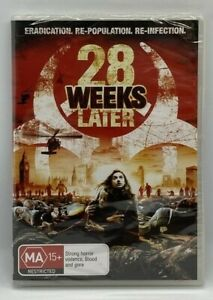 28 Weeks Later - Region 4 DVD - Brand New & Sealed - Free Post