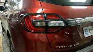 Ford Everest Black Tail Light Trims
