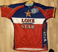 Primal Wear Cycling Jersey Mens Size Xxl Lone Star Beer NWT 3 Rear Pockets