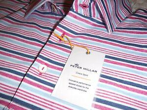 Peter Millar Summer Comfort Golf Polo Shirt size Small NWT
