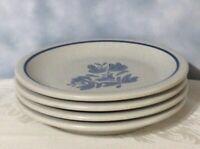 "Pfaltzgraff Yorktowne Set of Four (4) Salad Bread Dessert Plates - 6 5/8"""