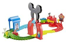 NEW Mickey Mouse Train Set Disney Clubhouse Fisher-Price Express Playset Track