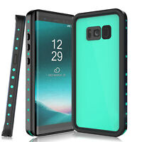 For Samsung Galaxy S8 S9 S10 Plus 5G Waterproof Case Cover With Screen Protector