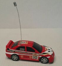 Mitsubishi Lancer Evolution VI Rally Red #10 RC Car 1/28 China