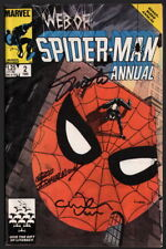 Web of Spiderman Annual #2 SIGNED Jim Shooter Charles Vess Art & Geof Isherwood