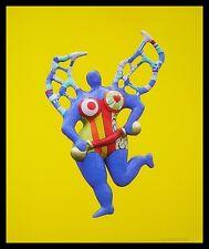 Niki de Saint Phalle Clarice Again Poster Bild Kunstdruck im Alu Rahmen 58x48cm