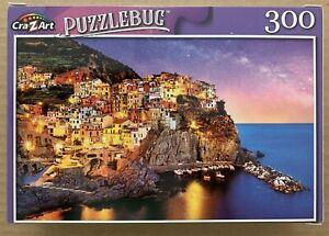 MANAROLA CINQUE TERRE LIGURIA ITALY JIGSAW PUZZLE, 300 PIECES, PUZZLEBUG NEW