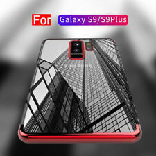 Plating Clear Rubber Silicone Soft Slim Case Cover For Samsung Galaxy S9 Plus