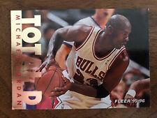 Michael Jordan 1995 1996 Fleer Total D Insert # 3
