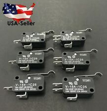 6 CLUB CAR GOLF CART MICRO SWITCH 2 & 3 PRONG 1014807 1014808 DS & PRECEDENT