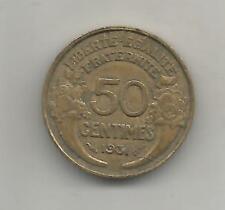 50 CTS MORLON BZ 1931 SANS FRUIT SANS RAISIN  FR/144