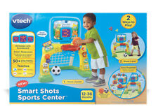 VTech Smart Shots Sports Center Toddler Soccer/Basketball Game Yellow NEW!