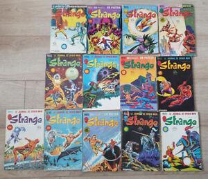 Lot BD comics Strange 161 à 173 LUG Marvel Poster
