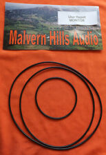 3 x Piece Drive Belt Set for Uher Report Monitor 4000 4200 4400 6000 Universal
