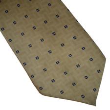 """Salvatore Pellegrino Tie 100% Silk Brown Black Necktie 60"""""""