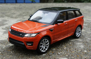 WELLY 1:24 Alloy Car Model Boys Toys Gift For LAND ROVER RANGE ROVER Sports SUV