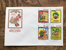 Redonda 1983 Disney Christmas first day cover