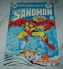 Sandman #1 NM+ 9.6 White Unrestored 1974 DC 1st Bronze age Sandman Simon & Kirby