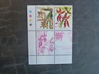 2002 MALAYSIA 17th WORLD ORCHID CONF. BLK 4 DIFF MINT ORCHID STAMPS MNH #1