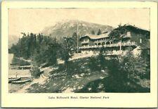 "Glacier National Park Postcard ""Lake McDonald Hotel"" Hileman - Blank Back"