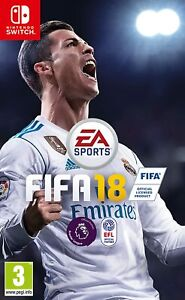 Fifa 18 : Nintendo Switch Sports Football 2018 Video Game *Super Fast Delivery*