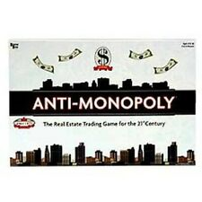 Anti-Monopoly Board Game 2009 Edition 21st Century Real Estate Trading New