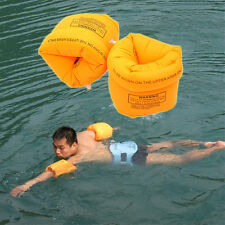 Swimming Air Sleeves Inflatable Arms Training Safety Ring Circle Float Water Us