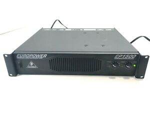 Behringer EuroPower EP1500 2x700 Watts Amplifier - Tested Working