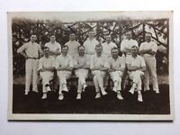 Vintage Real Photograph Postcard #X - Cricket Team
