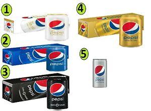 Select your favorite Diet Pepsi 12 fl oz Cans (12 Pack), Diet Mini 7.5 Ouncesx10