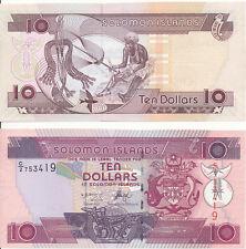 Salomonen / Solomon Islands - 10 Dollars 2005 UNC - Pick 27(1)