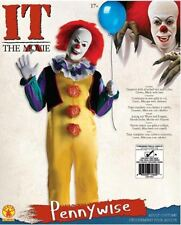 IT Pennywise Costume Teens Adult Medium-New