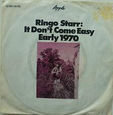 "7"" 1970 KULT VG+ ! RINGO STARR : It Don´t Come Easy"