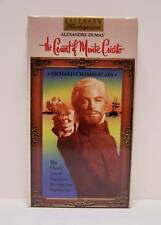 THE COUNT OF MONTE CRISTO,  RICHARD CHAMBERLAIN,  VHS, BRAND NEW AND SEALED