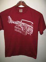 Standard Industries American Firearms Rifle Gun Blueprint Drawing T Shirt Medium
