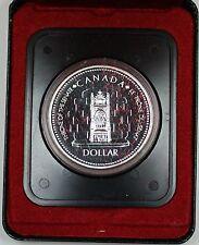 1977 Canada Proof-like One Dollar Coin Silver Jubilee of the Canadian Senate