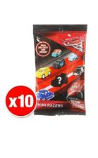 Disney Pixar Cars 3 Diecast Micro Mini Racers Blind Bag x 10
