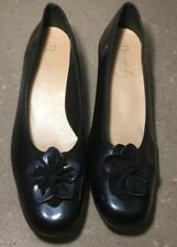 Petrol Blue Patent Shoes Size 39 (6)
