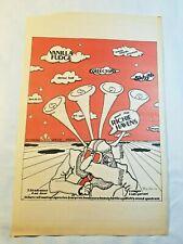 Vintage Ad Vanilla Fudge Richie Havens 1969 Shrine Hall La Free Press Unframed