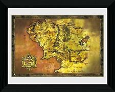 Lord Of The Rings Middle Earth LOTR Fantasy Film Framed Poster Print 40x30cm