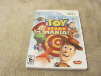 Toy Story Mania! (Nintendo Wii, 2009) Tested And Complete WITH 3D GLASSES!