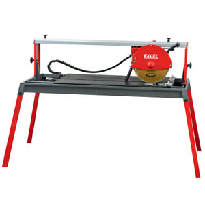 Excel 1000mm Cut Wet Tile Cutter Bridge Saw Power Pro 2200W/230V Heavy Duty