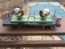 LIONEL 520 STANDARD GAUGE OPERATING SEARCHLIGHT CAR RESTORED WORKS!